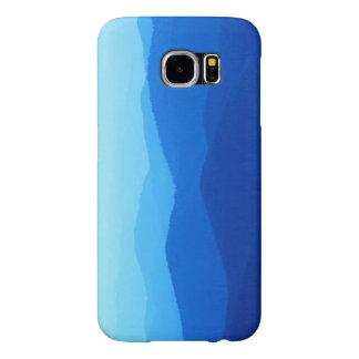 caixa azul de Samsung s6 das montanhas Capas Samsung Galaxy S6