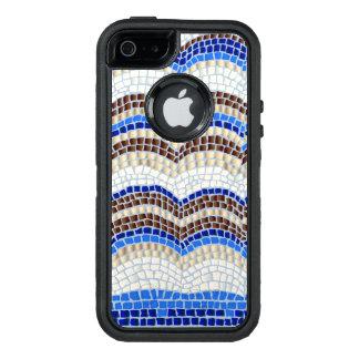 Caixa azul do iPhone SE/5/5s de Apple do mosaico