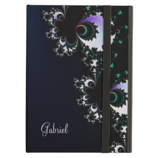 Caixa azul escuro personalizada do iPad do Fractal