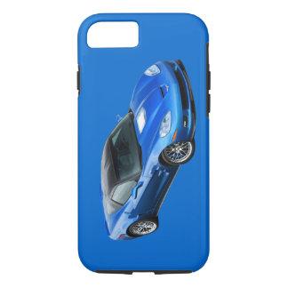 Caixa azul supersónico do iPhone 7 de ZR1 Corveta Capa iPhone 7