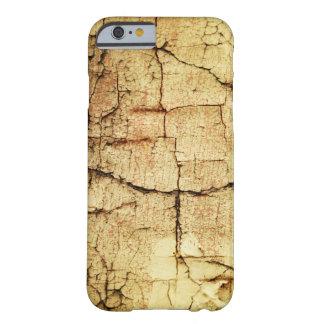 Caixa bege do Grunge-Estilo Capa Barely There Para iPhone 6