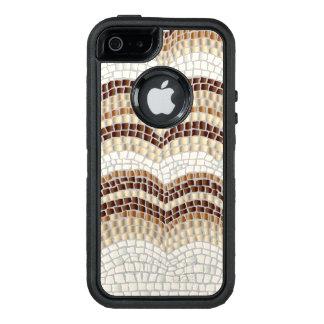 Caixa bege do iPhone SE/5/5S de Apple do mosaico