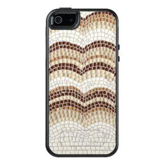 Caixa bege do iPhone SE/5/5s do mosaico