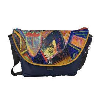 Caixa/bolsa mensageiro coloridas do laptop dos bolsas mensageiro