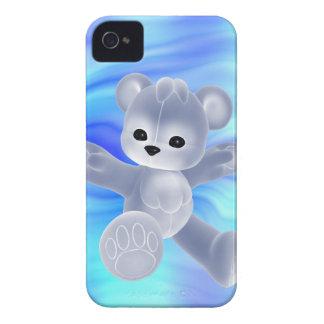 Caixa bonito de Blackberry do urso de ursinho iPhone 4 Capa