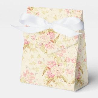 Caixa bonito feminino do favor do casamento do