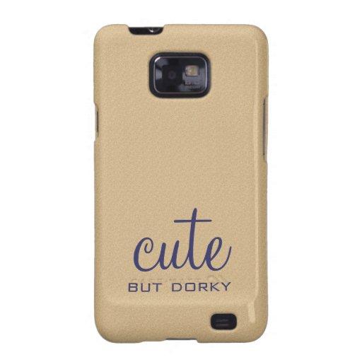 Caixa bonito mas Dorky da galáxia S2 de Samsung Capas Para Galaxy S2
