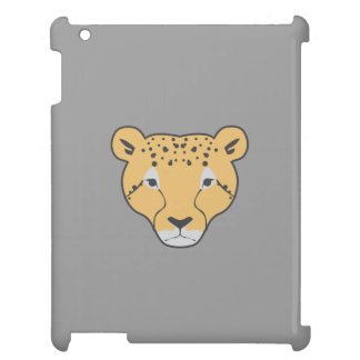 caixa cinzenta do ipad do gato selvagem capa iPad