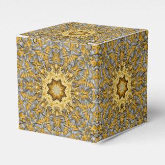Caixa clássica do favor 2x2 do metal precioso caixinhas de lembrancinhas para casamentos