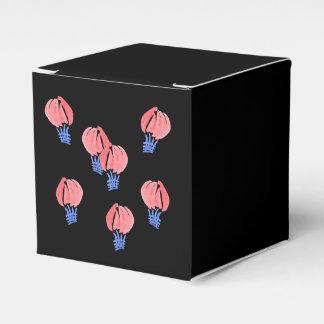 Caixa clássica do favor dos balões de ar