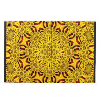 Caixa colorida do ar do iPad dos cravos-de-defunto