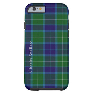 Caixa colorida do iPhone 6 da xadrez de Tartan de Capa Tough Para iPhone 6
