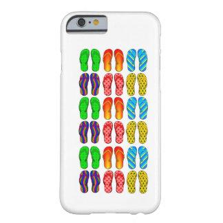 Caixa colorida do iPhone 6 do tema da praia do Capa Barely There Para iPhone 6