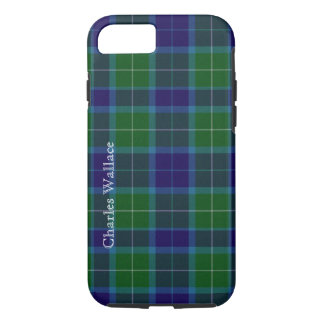 Caixa colorida do iPhone 7 da xadrez de Tartan de Capa iPhone 7