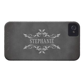 Caixa conhecida personalizada do vintage quadro ro capa de iPhone 4 Case-Mate
