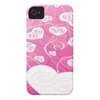 Caixa cor-de-rosa e bonito de Blackberry dos Capa Para iPhone