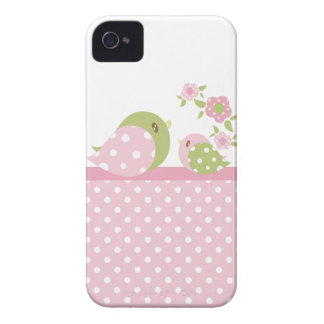 Caixa corajosa 2 de Blackberry do passarinho de Ba Capa iPhone 4 Case-Mate