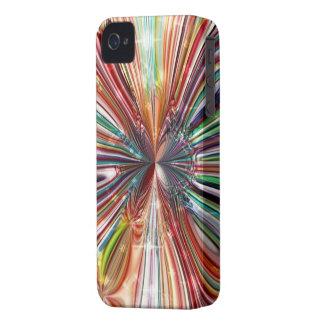 Caixa corajosa `` Cristall vermelho Flower´´ de Bl Capas iPhone 4 Case-Mate