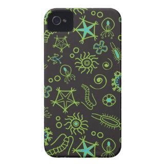 Caixa corajosa de Blackberry da ameba bonito Capinhas iPhone 4
