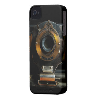Caixa corajosa de Blackberry da câmera do vintage Capinha iPhone 4