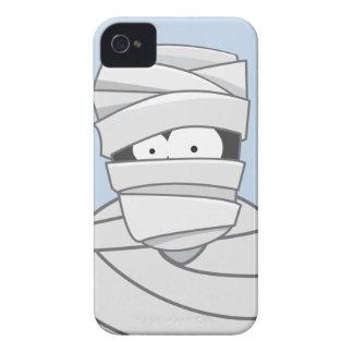 Caixa corajosa de Blackberry da mamã bonito assust Capas iPhone 4