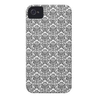Caixa corajosa de Blackberry do damasco Capa Para iPhone
