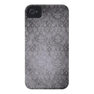 Caixa corajosa de Blackberry do damasco Capa Para iPhone 4 Case-Mate