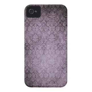 Caixa corajosa de Blackberry do damasco Capinhas iPhone 4