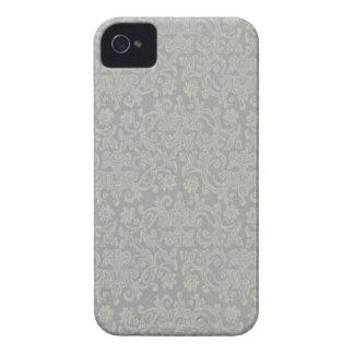 Caixa corajosa de Blackberry do laço Capa Para iPhone 4 Case-Mate