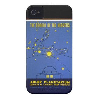 Caixa corajosa de Blackberry do planetário de Capinhas iPhone 4