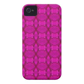 Caixa corajosa de Blackberry do teste padrão cor-d Capas iPhone 4