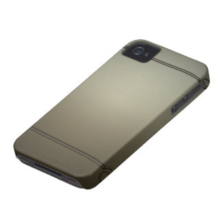 Caixa corajosa de Blackberry do vintage Capas iPhone 4 Case-Mate