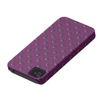 Caixa corajosa de Blackberry do vintage Capas Para iPhone 4 Case-Mate