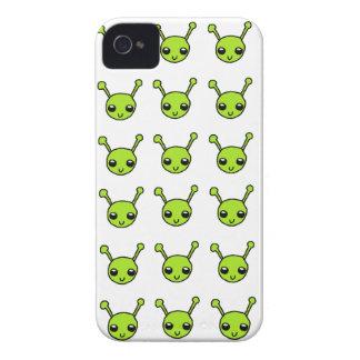 Caixa corajosa de Blackberry dos aliens verdes bon