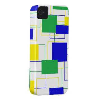 Caixa corajosa de Blackberry dos quadrados bonitos