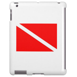 caixa da bandeira do mergulho do iPad Capa Para iPad