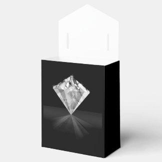 Caixa da barraca do diamante com fita