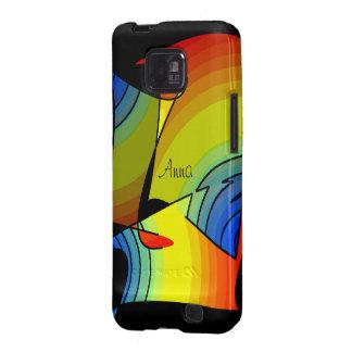 Caixa da galáxia de Anna Samsung Capas Samsung Galaxy S2