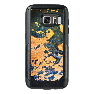 Caixa da galáxia de Samsung da rocha amarela &