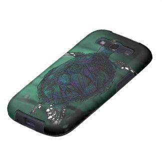 Caixa da galáxia de Samsung da tartaruga de mar Capinhas Samsung Galaxy S3