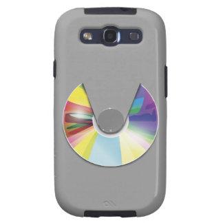 Caixa da galáxia de Samsung do compact disc Capas Personalizadas Samsung Galaxy S3