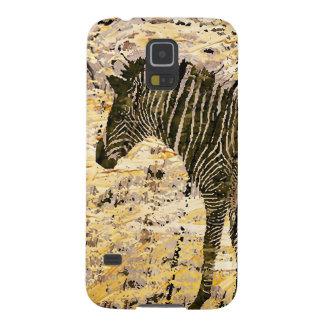 Caixa da galáxia do design da zebra/iPhone/iPad Capinhas Galaxy S5