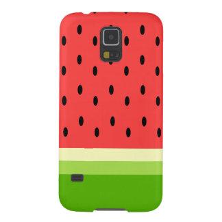 Caixa da galáxia S5 de Samsung da melancia Capa Para Galaxy S5