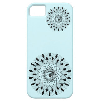 Caixa da mandala iphone5 do olho capas para iPhone 5