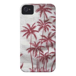 caixa de Blackberry das palmeiras do vintage mal Capinha iPhone 4