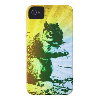 Caixa de Blackberry do esquilo iPhone 4 Capa