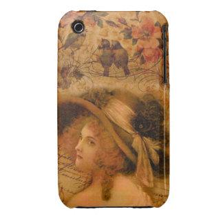 Caixa de Blackberry do Victorian Capas Para iPhone 3 Case-Mate