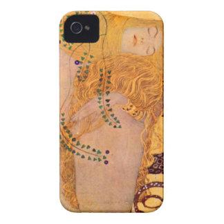 Caixa de Blackberry do vintage da sereia do Hydra Capinhas iPhone 4
