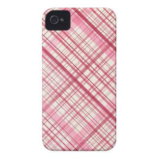 Caixa de Blackberry no rosa bonito! iPhone 4 Capa