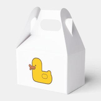Caixa de borracha do pato, a engraçada & do geek caixinhas de lembrancinhas para casamentos